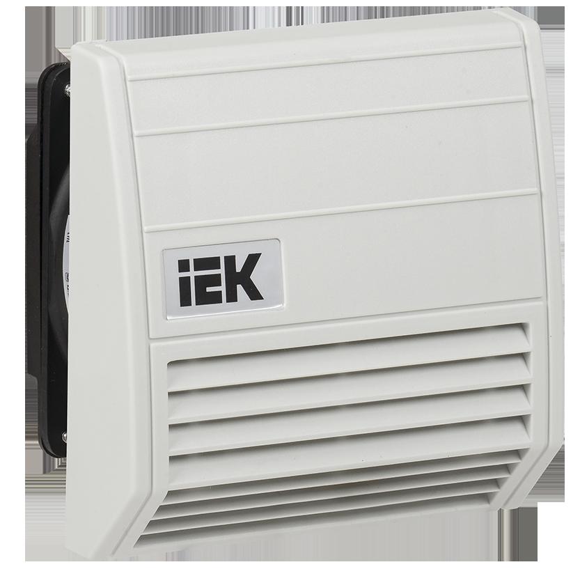 Вентилятор с фильтром 21 м3/час IP55 IEK