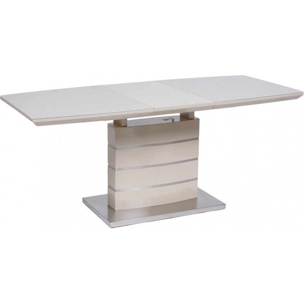 Стол Avanti Mars 140-180 см бежевый со стеклом (U0003037)