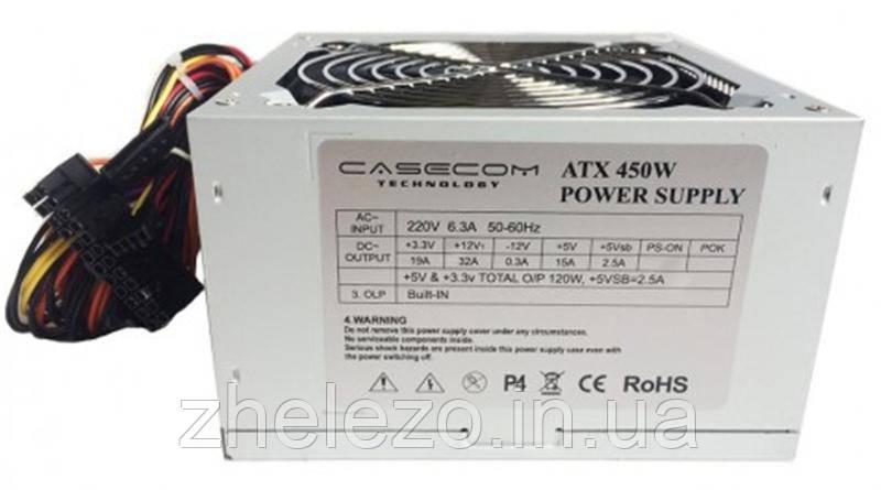 Блок живлення CaseCom (CM 450 ATX) 450W 12Fan, фото 2