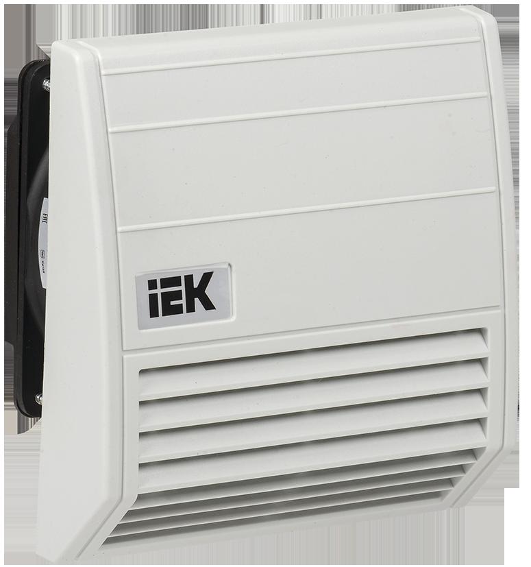 Вентилятор с фильтром 55 м3/час IP55 IEK