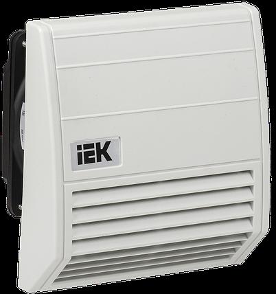 Вентилятор с фильтром 55 м3/час IP55 IEK, фото 2