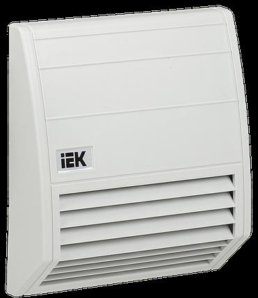 Фильтр с защитным кожухом 176х176мм для вентилятора 102 м3/час IEK, фото 2