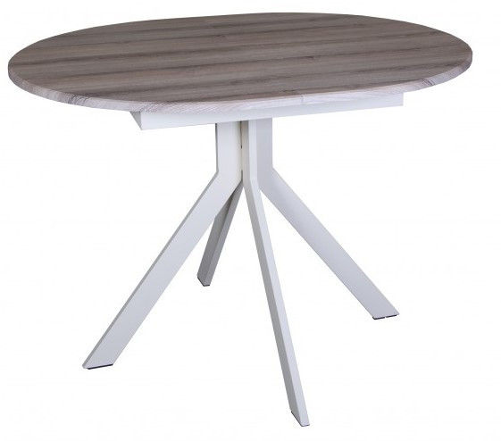 Стол обеденный раздвижной EAGLE Camellia beige 1100(1500)х900 ТМ Technostyle-Pro™