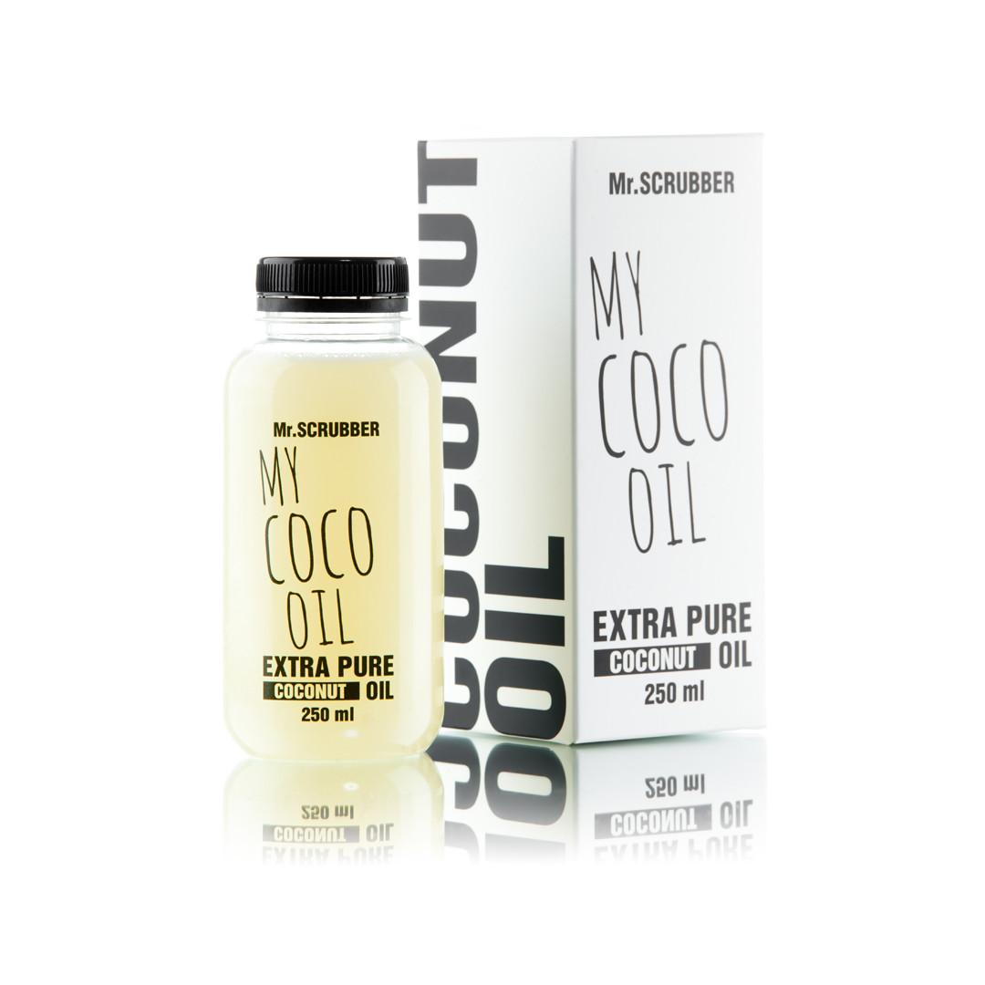 Очищенная кокосовое масло Mr. Scrubber My Coco Oil Extra Pure 250 мл