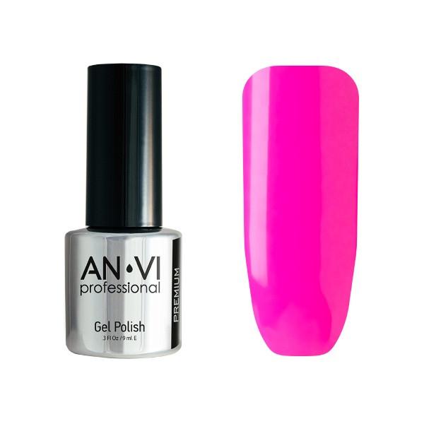 Гель-лак для ногтей ANVI Professional №095 Cheefful Flamingo 9 мл