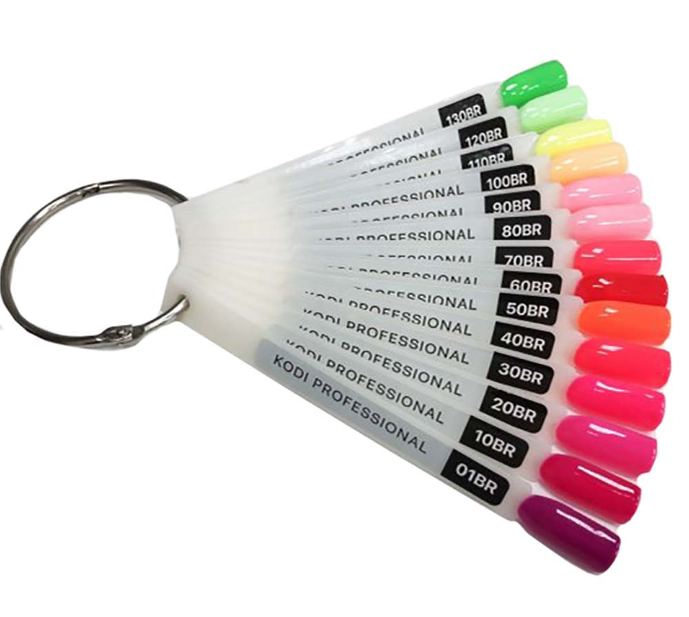 "Палитра для гель лака Kodi Professional ""Bright"" 14 типс"