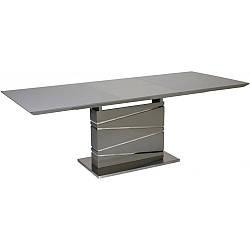 Стол Avanti Element 160-220 см серый лак со стеклом (U0001079)