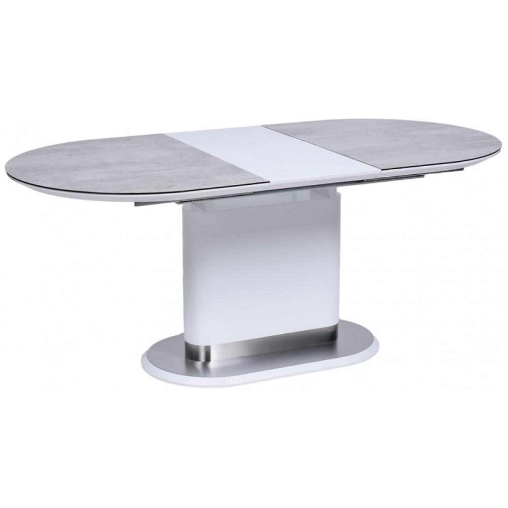 Стол Avanti Omega 140-180 см белый сатин / крем (U0002921)