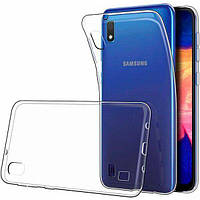 Чехол силиконовый для Samsung Galaxy A01 Core (A013) ультратонкий прозрачный