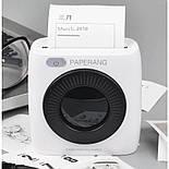 Термопринтер мобильный карманный Bluetooth для фото PAPERANG P2 300dpi, фото 4