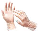 Перчатки виниловые Vian L 100 шт, фото 2