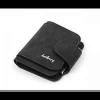 Брендовий маленький жіночий гаманець BAELLERY FOREVER Портмоне Mini Сірий