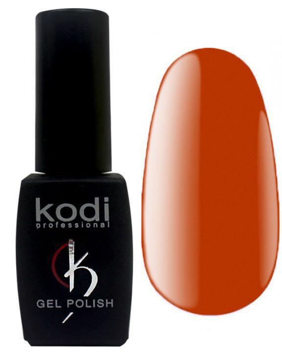 """Гель-лак для ногтей Kodi Professional """"Salmon"""" №SL065 Карамельно-терракотовый (эмаль) 8 мл"""