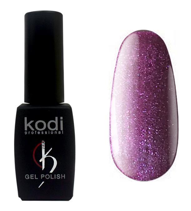 """Гель-лак для ногтей Kodi Professional """"Violet"""" №V069 Пурпурный с шиммером 8 мл"""