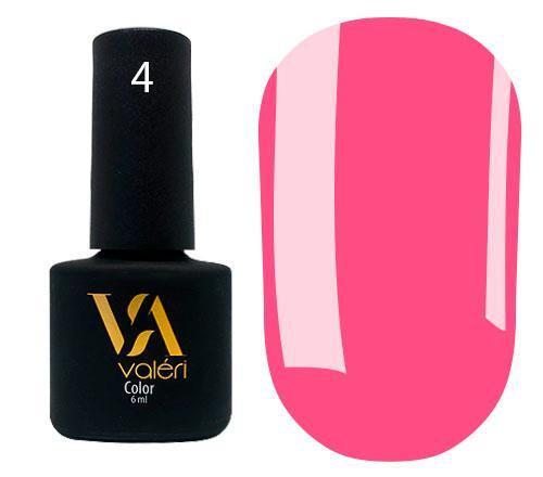 Гель - лак для ногтей Valeri Color №004 6 мл