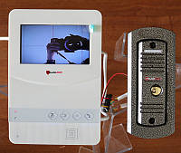 Комплект видеодомофона PoliceCam PC-431 W (BC-4)