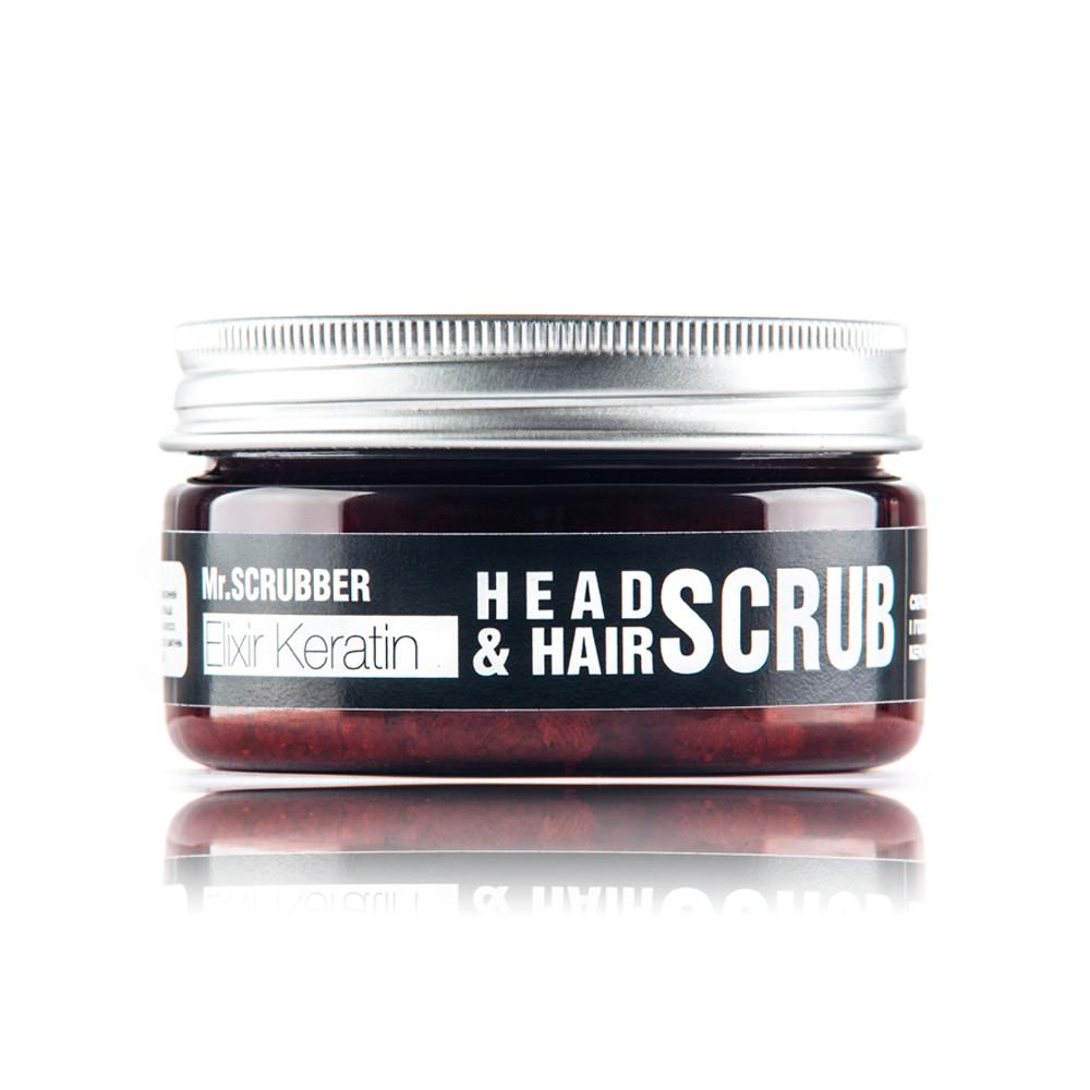 Скраб для волос и кожи головы Mr. Scrubber Elixir Keratin 100 мл