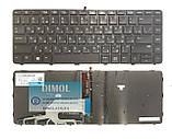 Оригинальная клавиатура для ноутбука HP Probook 430 G3 series, rus, black, подсветка, фото 2