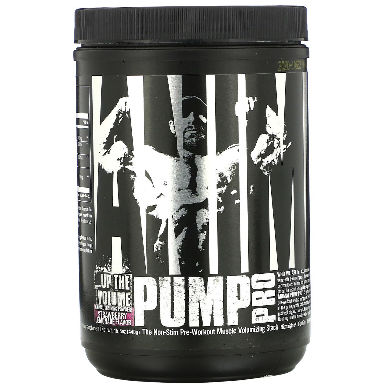 Universal Nutrition Animal Pump Powder Pro 20 servings