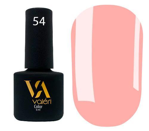 Гель - лак для ногтей Valeri Color №054 6 мл