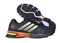 Кроссовки мужские беговые Adidas Marathon (адидас) черные