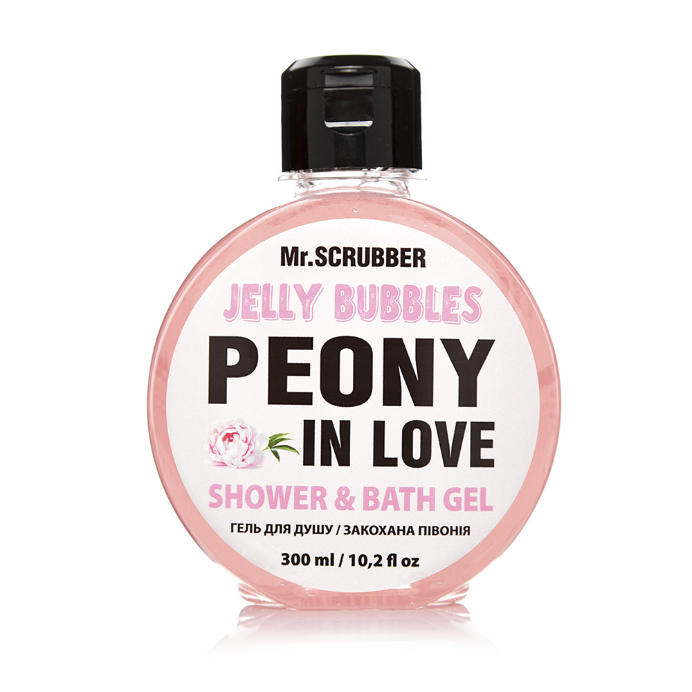 Гель для душа Mr. Scrubber Jelly Bubble Peony in Love 300 мл