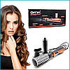 Вращающаяся воздушная щетка фен расческа Gemei GM4828- плойка для волос мультистайлер, фото 2