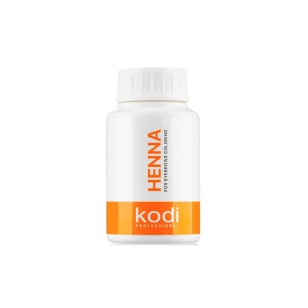 Хна для покраски бровей Kodi Professional Коричневая 15 г