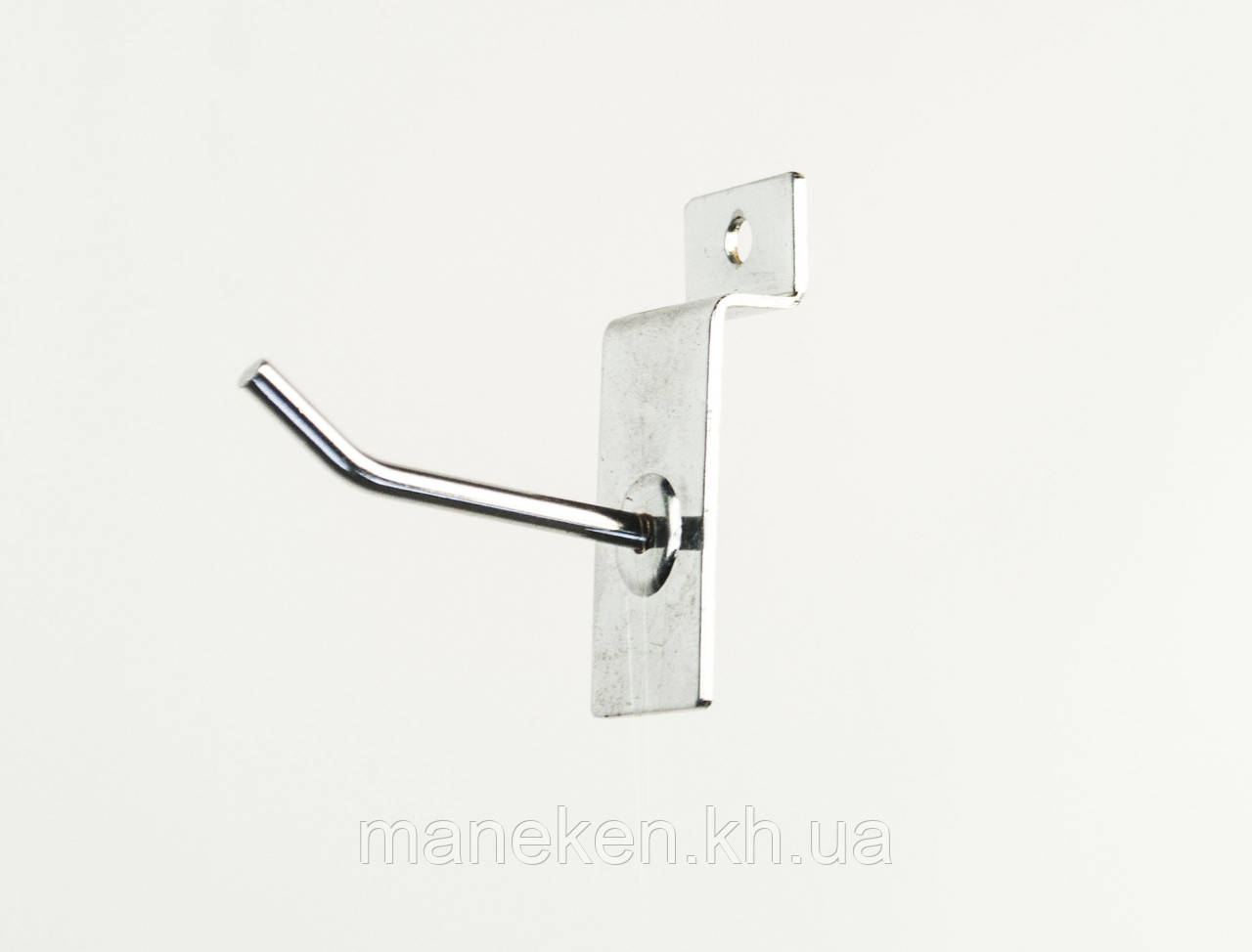 Крючок с креплением на эконом-панель L5Ф4,5(С-46) Хром