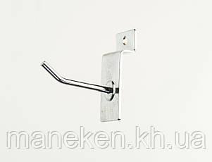 Крючок с креплением на эконом-панель L5Ф4,5(С-46) Хром, фото 2