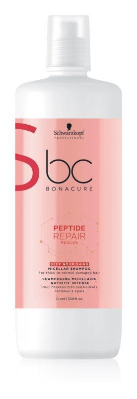 Шампунь для глубокого увлажнения с пептидами Schwarzkopf Professional BC Peptide 1000 мл