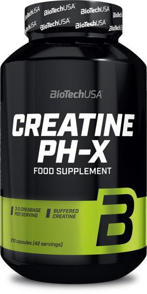 BioTech (USA) Creatine pHX, Креатин (210 кап)
