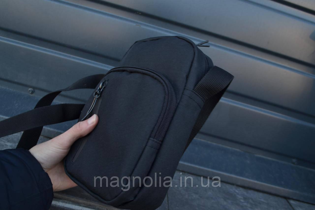 Мужская сумка мессенджер  ХИТ ПРОДАЖ мужская сумка через плечо / Сумка чоловіча чорна / Барсетка