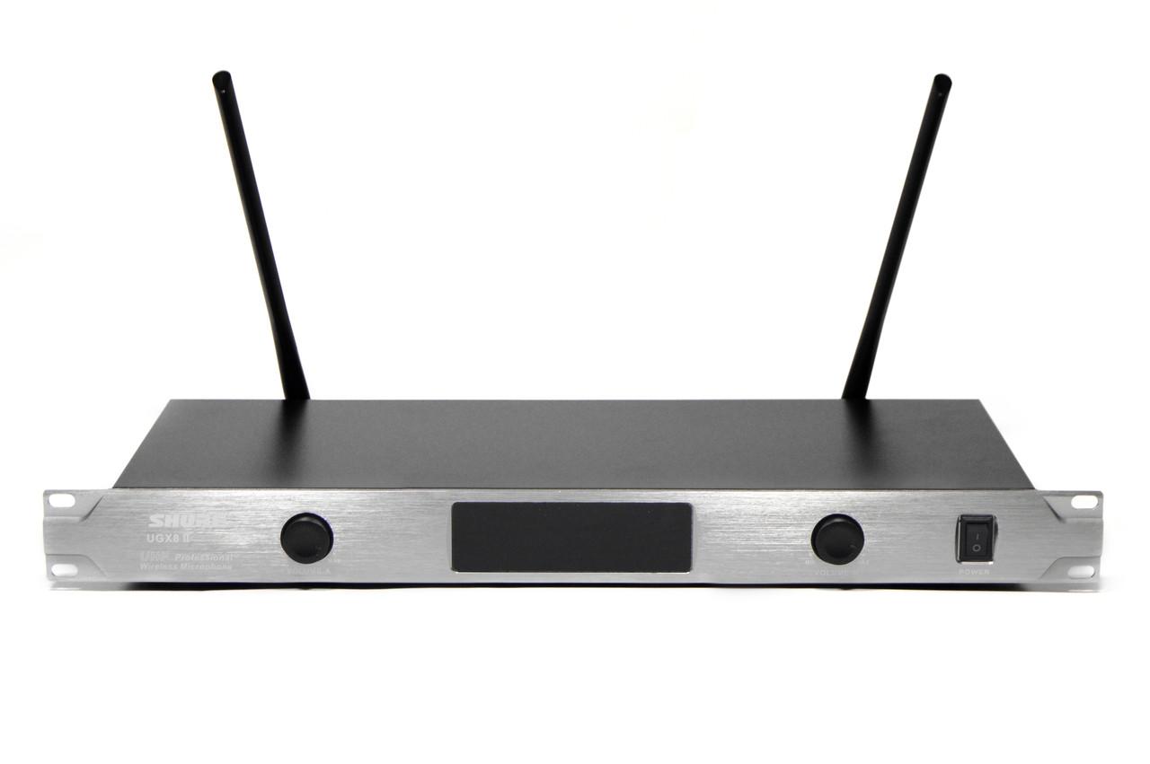 Радиосистема Shure UGX8 ІІ на 2 микрофона + дисплей (беспроводной караоке микрофон)