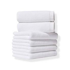 Полотенце Lotus Отель - Белый 40*70 (20/2) 400 г/м²