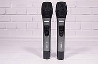 Радиосистема Shure UGX8 ІІ на 2 микрофона + дисплей (беспроводной караоке микрофон), фото 6