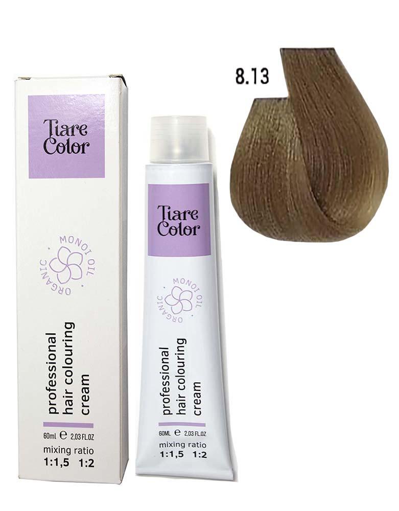 Крем - краска для волос 8.13 Tiare color 60 мл