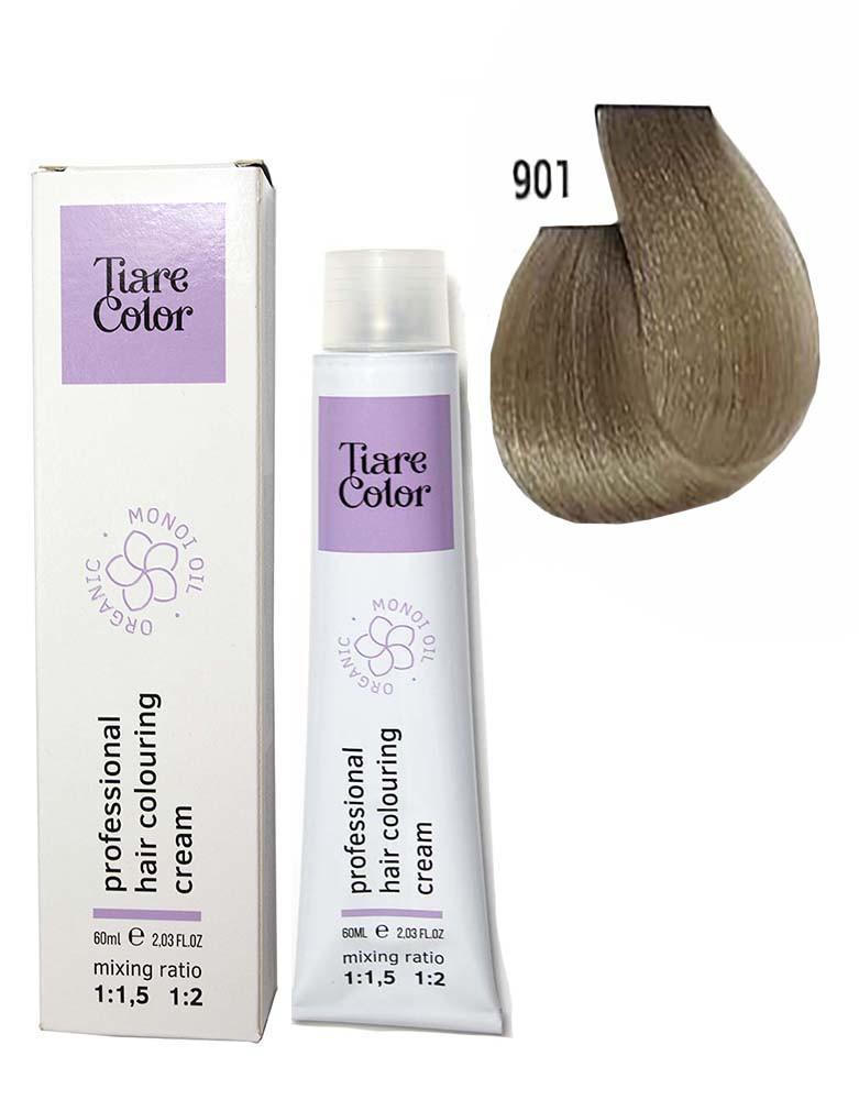 Крем - краска для волос 901 Tiare color 60 мл