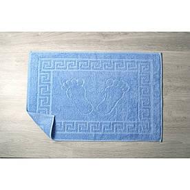 Рушник для ніг Lotus Готель - Блакитний (550 г/м2) 50*70