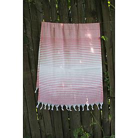 Рушник Lotus Pestemal - Light-05 pink 75*150 Micro stripe
