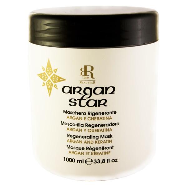 Реструктуризирующая маска с маслом арганы и кератином RR Line Argan Star 1000 мл