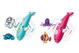 Бездротова 3D ручка у вигляді дельфіна (низькотемпературна 3д-ручки для дітей та дорослих) синя, фото 10