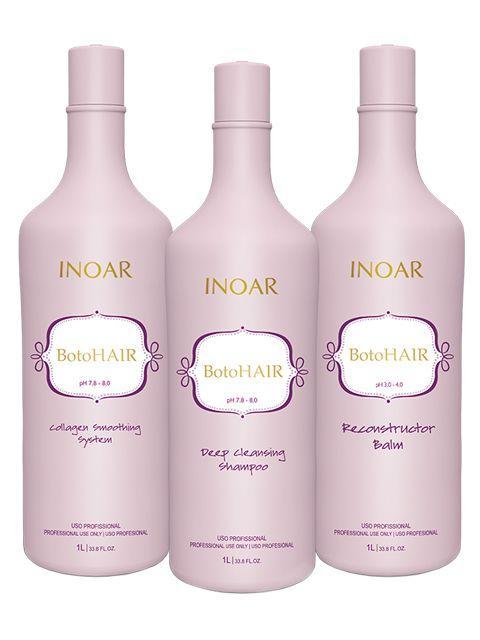 Набор ботокс для волос Inoar Botohair 3 * 1000 мл