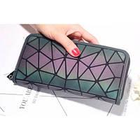 Женский клатч кошелёк BAO BAO для телефона и карточек 19,5x10,5x2,5 см Хамелеон, фото 1