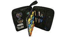 LeRoy EVA Spool Сумка - органайзер для крючков и поводочных материалов (шпули, инструмент в комплекте, черная), фото 2