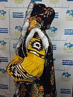 Безрукавка зимова  жіноча з капюшоном, фото 1