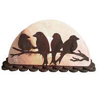 Солянаz лампа SaltLamp Птиці на гілці 1,5 кг