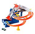 Ігровий набір Hot Wheels Гонки на фабриці (FDF28) машинка - 1 шт., фото 3