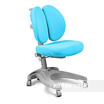 Комплект для мальчика👦 стол-трансформер FunDesk Libro Blue+эргономичное кресло FunDesk Solerte Blue, фото 3