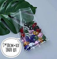 Полипропиленовые пакеты с клапаном и клеевой полосой 70-100мм+кл. 25мкм